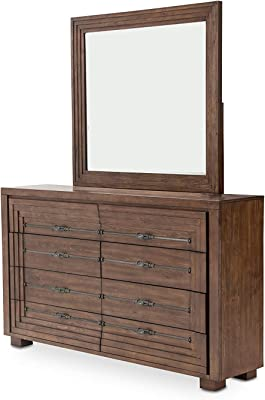 Unknown1 Rustic Ranch Dresser Mirror Includes Hardware