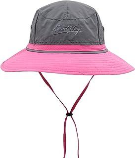 Connectyle Outdoor Boonie Fishing Bucket Hat Summer Colorblock Sun Hats Hunting Cap