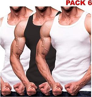 7bd88d448 Rich Cotton Men's Ribbed Tank Top Shirts 3, 6,12 Multi Pack Sleeveless A
