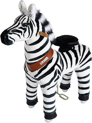 Venta al por mayor barato y de alta calidad. PonyCycle Original Caminar Montar Montar Montar el Pony Mecánico Oficial Cebra Pequeña  precio al por mayor