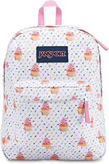 JanSport Superbreak Backpack - Cupcakes - Classic, Ultralight