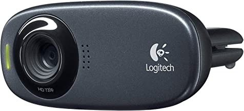 Logitech C310 5MP 1280 x 720 Webcam,Black(New)