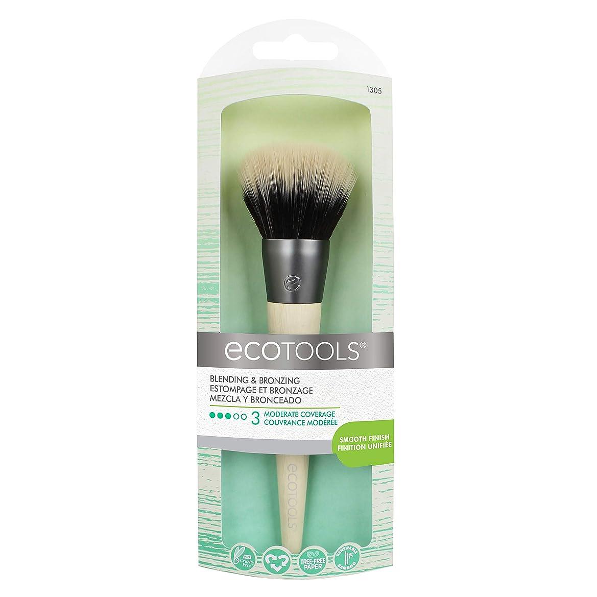女性マイナー作詞家EcoTools Blending and Bronzing Brush (並行輸入品)