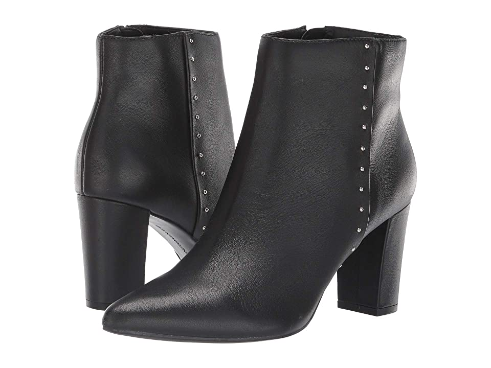 Bandolino Zoila Bootie (Black Leather) Women