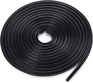 Sumnacon Car Door Edge Guards 16Ft -Flexible Rubber Edge Trim For Protecting Edges of Cars, Boats, Vehicles & Metal Glass Equipment, Durable And Removable Protector Guard Seal Strips Black