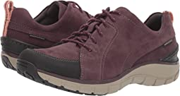 Aubergine Nubuck/Leather Combi