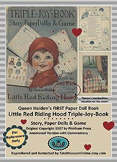 Queen Holden's First Paper Doll Book: Little Red Riding Hood