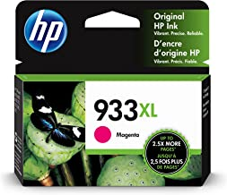 HP 933XL | Ink Cartridge | Magenta | Works with HP OfficeJet 6100, 6600, 6700, 7110, 7510, 7600 Series | CN055AN