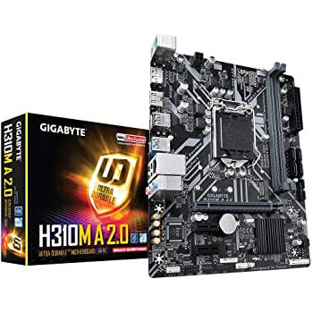 GIGABYTE H310M A 2.0 (LGA1151/ Intel/ H310/ Micro ATX/ DDR4/ HDMI 1.4/ M.2/ Motherboard)