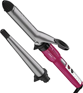 Infiniti Pro by Conair Tourmaline Ceramic Combo Styler; 1-Inch Curling Iron Plus Curling Wand