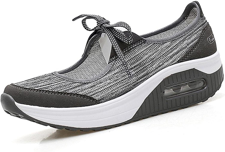 Summer New Design Women Flat Platform shoes Woman Casual Air Mesh Breathable shoes
