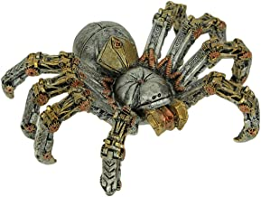 Steampunk Tarantula Spider Mechanical Figurine Statue Silver 6