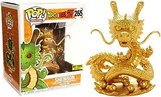 Funko Shenron [Golden Color] (Hot Topic Exclusive) Deluxe POP! Animation x Dragonball Z - Resurrection F Vinyl Figure + 1 Official Dragonball Bundle