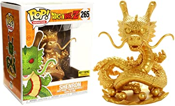 Funko Shenron [Golden Color] (Hot Topic Exclusive) Deluxe POP! Animation x Dragonball Z - Resurrection F Vinyl Figure + 1 Official Dragonball Bundle