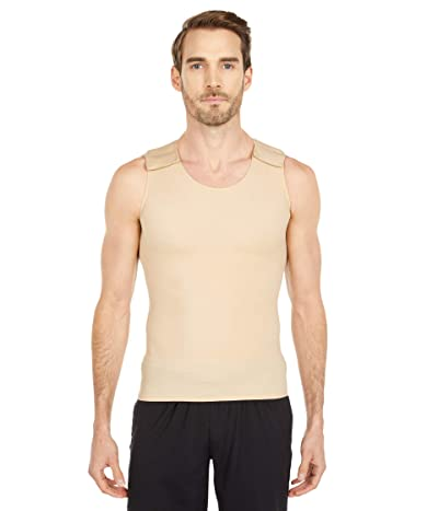 InstantRecoveryMD Compression Muscle Tank with Hook-and-Loop Closure at Shoulders (Nude) Men