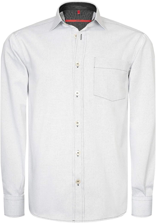 312a36484a7d81 Signum Hemd - Elegantes ICON aus Sommerbaumwolle Herrenhemd - Optical  B07P8VXTFJ Elegante Form Weiß Hemd nrmphe3025-Bekleidung