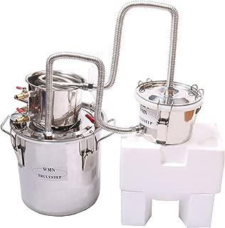 New 3 Pots DIY 5 Gal 20 Litres Alcohol Moonshine Ethanol Still Spirits Stainless Steel Boiler Water Distiller Wine Making Kit