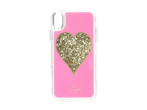 Kate Spade New York Heart Liquid Glitter Phone Case for iPhone® XS