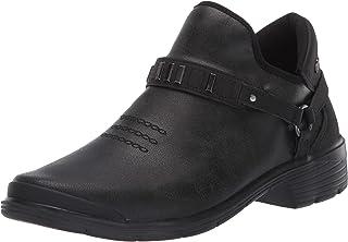 Bzees Women's Barista Ankle Boot, Black, 10 M M US