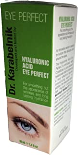 Dr. KARABELNIK HYALURONIC ACID EYE PERFECT TO SMOOTH OUT THE APPEARANCE OF WRINKLES. 1 FLOZ