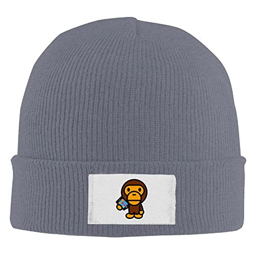 Unisex Famouse Rapper Singer Kid Cudi Bape Beanie Cap Fleece Cap Watch Cap 08cd4c6291c