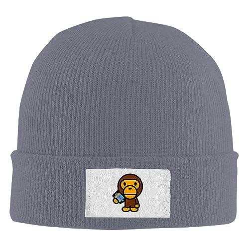 Unisex Famouse Rapper Singer Kid Cudi Bape Beanie Cap Fleece Cap Watch Cap b102a1fc424