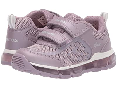 Geox Kids Android 26 (Toddler/Little Kid) (Light Purple) Girl