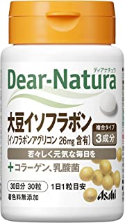 ディアナチュラ 大豆イソフラボン with コラーゲン、乳酸菌 30粒 (30日分)