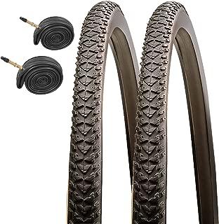 CST Raleigh T1533 Pioneer 700 x 35c Hybrid Bike Tires with Presta Tubes (Pair)