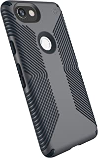 Speck Products Presidio Grip Cell Phone Case for Google Pixel 2 XL - Graphite Grey/Charcoal Grey