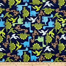 dinosaur minky fabric