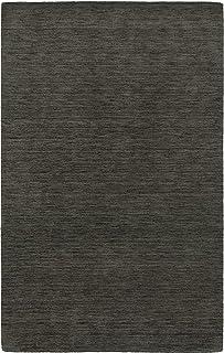 Moretti Desire Area Rug 27102 Charcoal Neutral Monochrome 8' x 10' Rectangle