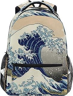 great wave off kanagawa backpack