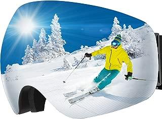 ski goggle dimensions