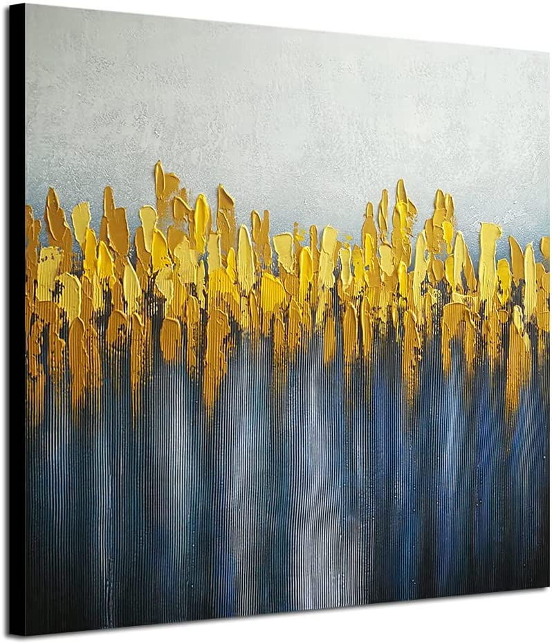Sales of SALE items from new works Wieco Art Pure Hand-Painted Paintings Canvas on Max 47% OFF Abstract