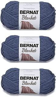 Bulk Buy: Bernat Blanket Yarn (3-Pack) Country Blue 161200-106