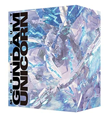 【メーカー特典あり】機動戦士ガンダムUC Blu-ray BOX Complete Edition (RG 1/144 ユニコーンガンダム ペルフェクティビリティ 付属版) (初回限定生産) (色紙付)