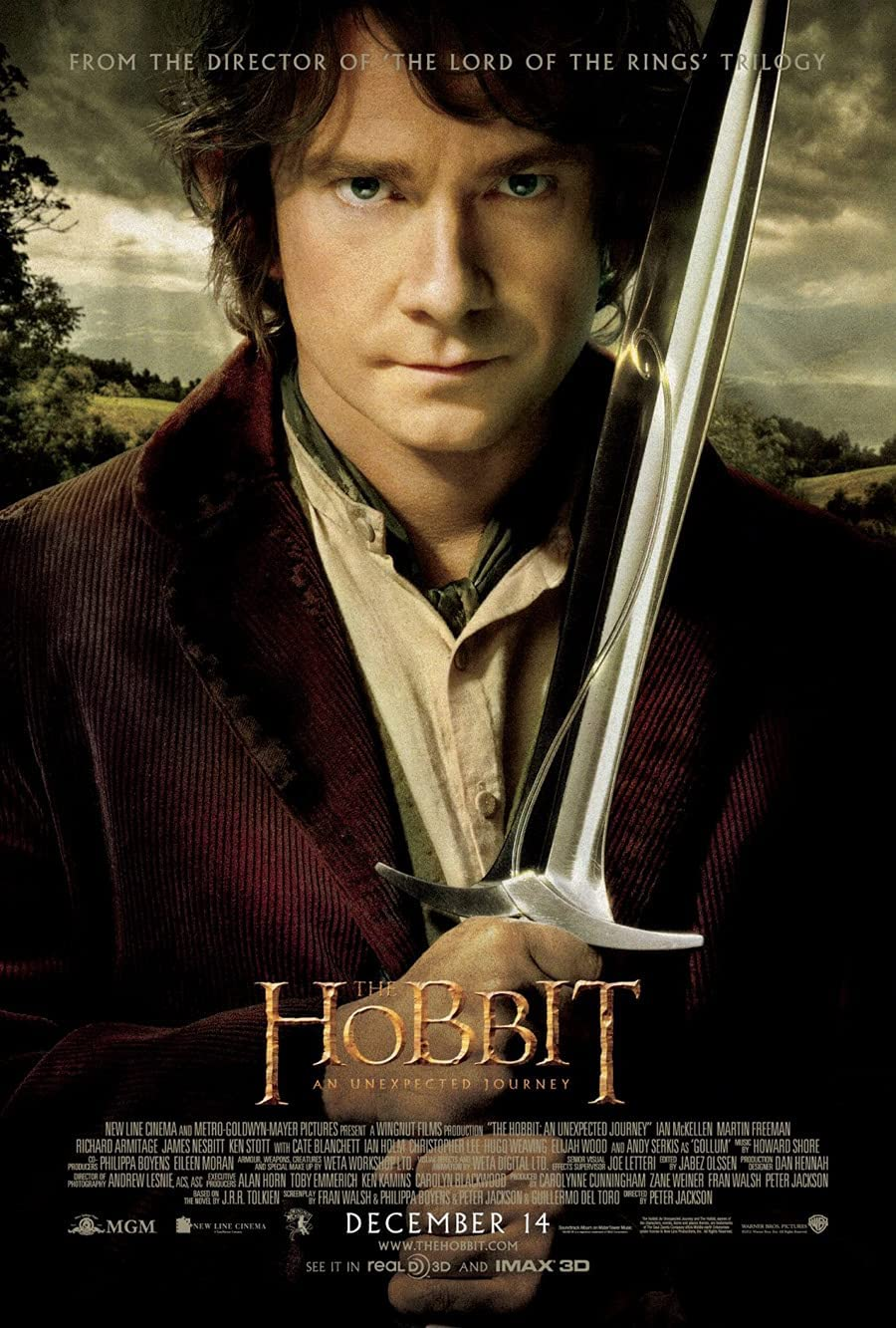 THE HOBBIT Clearance SALE! Limited time! Brand Cheap Sale Venue AN UNEXPECTED JOURNEY MOVIE Sided POSTER F ORIGINAL 2