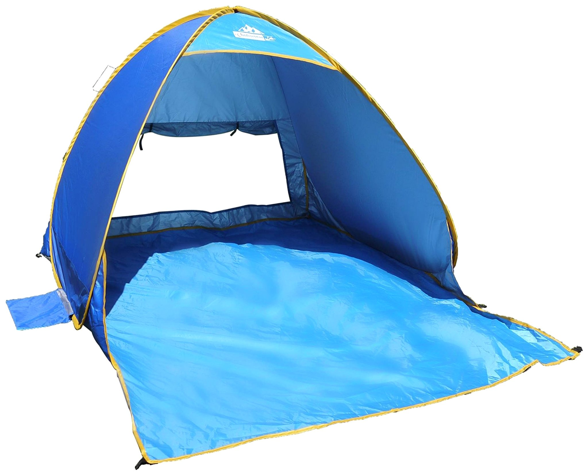Outdoorsman Lab Beach Accessory u2013 17.7u201d x 17.7u201d x 1.2u201d Pop Up Beach Tent u2013 Use for Beach Vacation Travel Cabana Gear Sun Shelter Shade ...  sc 1 st  Amazon.com & Best wind tents for beach   Amazon.com