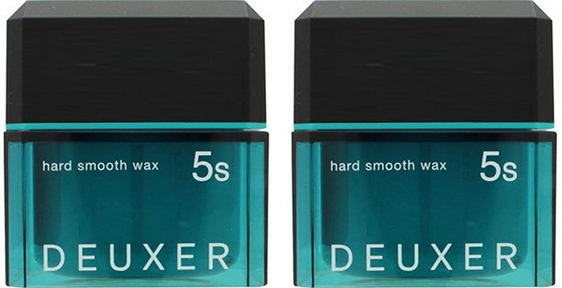 見つけた六分儀フィヨルド【X2個セット】 ナンバースリー デューサー ハードスムースワックス 5S 80g