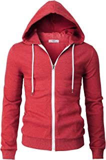 H2H Men's Dri Power Full Zip Fleece Hoodie