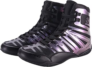 Men's Boxing Shoes Wrestling Fighting Trainers Breathable Soft Bottom Adult Teens Indoor Fitness Squat Sneakers
