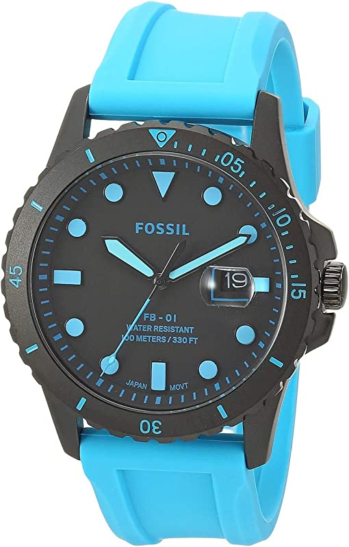 FS5682 Black Neon Blue Silicone
