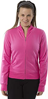 Rogue Women's Track Style Jacket in 4 Colors a Full Zip Up Sweatshirt