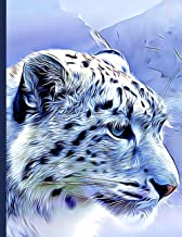 2021 Snow Leopard Planner - Daily Weekly Monthly: Large Size Diary and Organizer