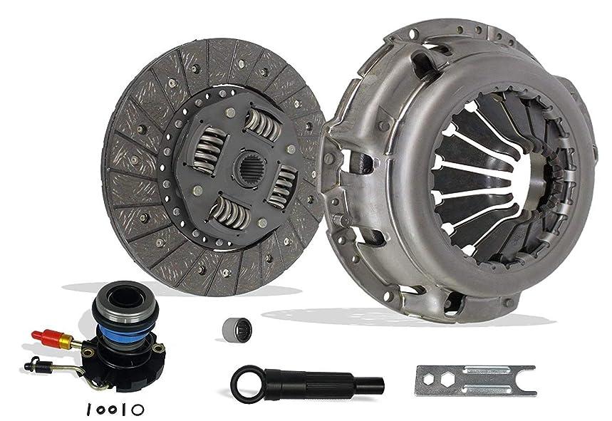 Clutch And Slave Kit Works With Ford Ranger Mazda Pickup B2300 B2500 B3000 Limited Sport Xl Xlt Edge 1995-2011 2.3L L4 Dohc 2.5L L4 Sohc 3.0L V6 Ohv