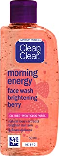 Clean & Clear Morning Energy Berry Face Wash, 50ml