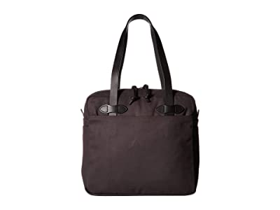 Filson Tote Bag with Zipper (Cinder) Tote Handbags