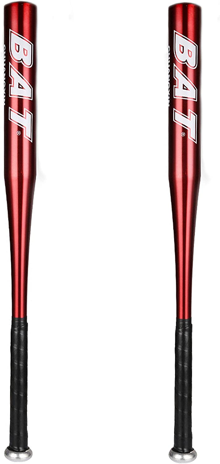 DeHasion 2 Packs Baseball Credence Bat 25 Popular shop is the lowest price challenge Inch B Thickened Aluminum Alloy