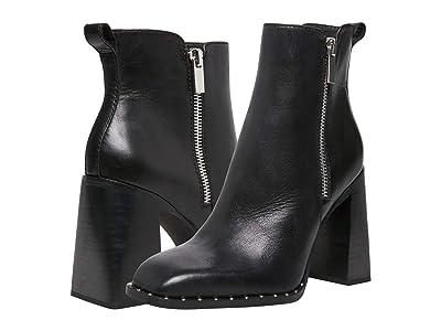 Steve Madden Whisper Bootie (Black Leather) Women